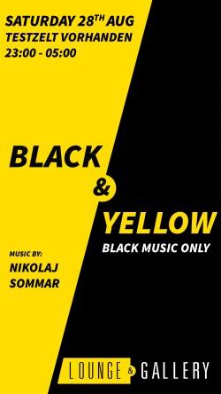 Flyer Black & Yellow