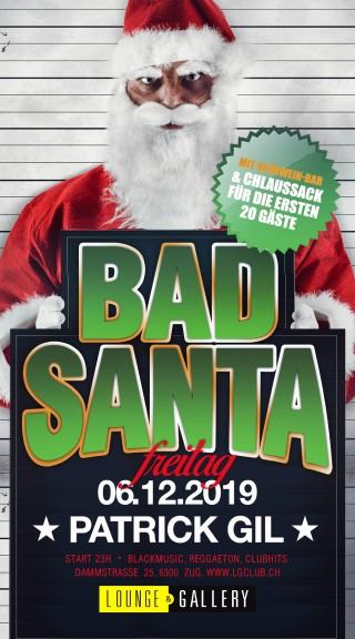 Flyer Bad Santa - alle Jahre wieder