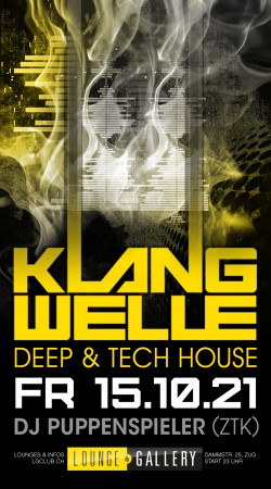 Flyer KLANGWELLE - Deep & Tech-House