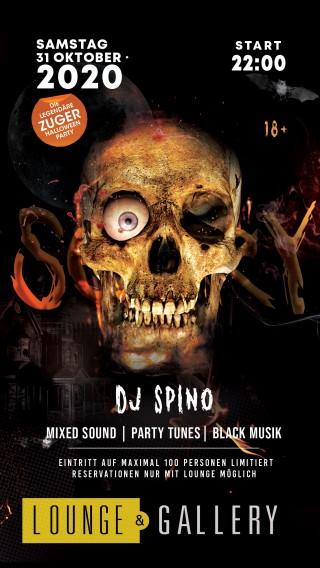 Flyer Zuger Halloween Party / Part II
